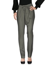 Anne Valerie Hash Casual Pants Military Green