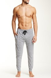 Bottoms Out Tapered Knit Jogger Gray