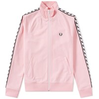 Fred Perry 'S Taped Track Jacket Pink