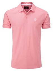 Henri Lloyd Men's Cowes Regular Polo Salmon