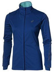 Asics Liteshow Winter Women's Jacket Blue