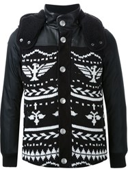 Education From Youngmachines Navajo Pattern Jacket Black