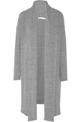 Kain Label Doven Stretch Knit Cardigan Gray