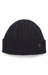 Ted Baker London Knitted Interest Hat Blue Navy