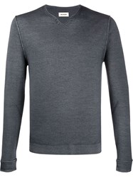 Zadig And Voltaire Scalloped Neck Jumper 60