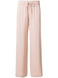 Red Valentino Wide Leg Trousers Nude And Neutrals
