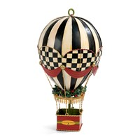 Mackenzie Childs Up Up And Away Hot Air Balloon Tree Decoration