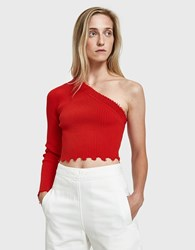 Which We Want Giulia Top Red