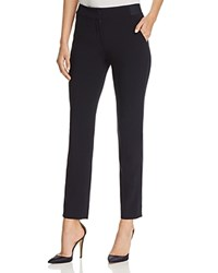 Emporio Armani Cropped Straight Leg Pants Navy
