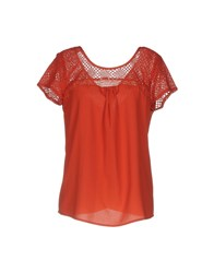 Axara Paris Blouses Rust