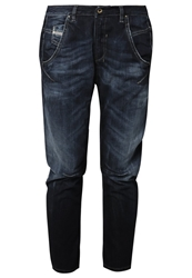 Diesel Fayza Relaxed Fit Jeans 0831Q Dark Blue