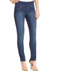 Jag Nora Pull On Skinny Jeans Anchor Blue