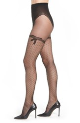 Dim Women's Lace Bow Tights