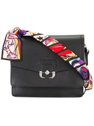 Paula Cademartori Twiggy Shoulder Bag Black