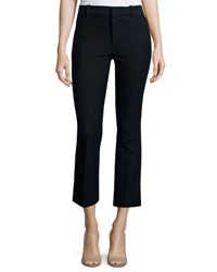 Derek Lam Cropped Flare Trousers Midnight