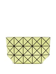 Issey Miyake Prism Frost Cosmetics Pouch Light Green