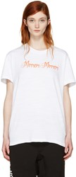 Off White Mirror Mirror T Shirt
