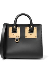 Sophie Hulme Albion Box Mini Leather Shoulder Bag Black