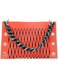 Sonia Rykiel Double Pouch Orange