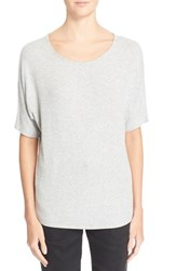 Women's Vince Dolman Sleeve Knit Tee Heather Grey