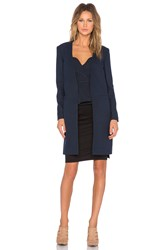Finders Keepers Nightbloom Coat Navy