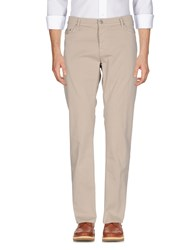 Care Label Trousers Casual Trousers Beige