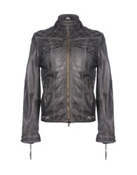Vintage De Luxe Jackets Steel Grey