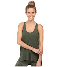 Alo Yoga Cozy Tank Top Jungle Heather Women's Sleeveless Olive