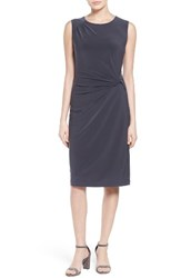 Nic Zoe Women's Jersey Twist Front Sheath Dress
