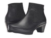 Naot Footwear Stunning Black Raven Leather Women's Boots