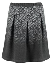 Cream Celina Aline Skirt Dark Grey Anthracite