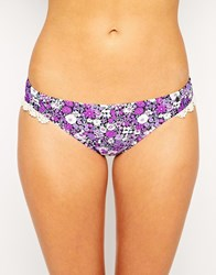 All About Eve Ditsy Floral Hipster Bikini Bottom Multi