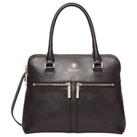 Modalu Pippa Small Leather Grab Bag Black