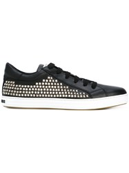 Dsquared2 Studded Tennis Club Sneakers Black
