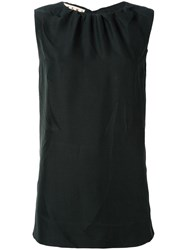 Marni Sleeveless Blouse Black