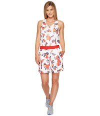 Puma Camou Print Overall White Women's Overalls One Piece