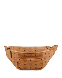 Mcm Fursten Visetos Medium Belt Bag Brown