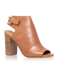 Carvela Kurt Geiger Assent Leather Bootie Female Tan