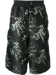 Astrid Andersen Patterned Shorts Black