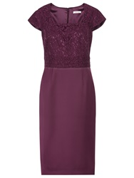 Kaliko Satin Dress Dark Purple