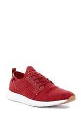 Steve Madden Chyll Perforated Sneaker Red