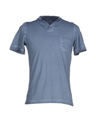 Alpha Massimo Rebecchi Topwear T Shirts Men Slate Blue