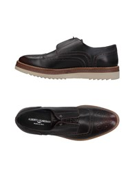 Alberto Guardiani Lace Up Shoes Dark Brown