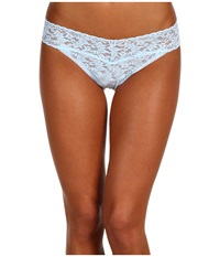 Hanky Panky Bride Original Rise Bridal Thong Powder Blue Clear Women's Underwear