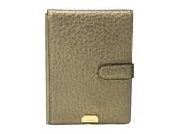Lodis Borrego Rfid Under Lock Key Passport Wallet With Ticket Flap Bronze Wallet Handbags