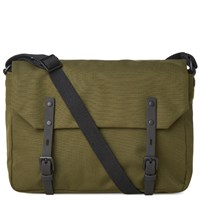Ally Capellino Jez Ripstop Messenger Bag Green