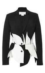 Antonio Berardi Scalloped Tailored Blazer Black