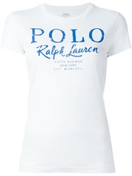 Polo Ralph Lauren Print T Shirt White