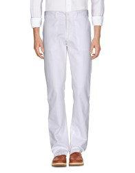 Fred Perry Casual Pants White