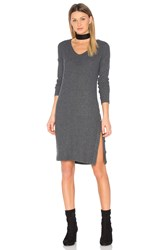 Michael Stars Snap Midi Dress Gray